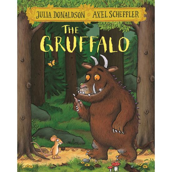 Donaldson and Scheffler: The Gruffalo (Paperback)