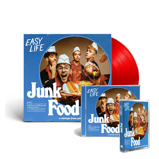 Easy Life: COMBO MEAL 2: LIMITED EDITION KETCHUP VINYL, CD + CASSETTE