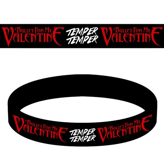 Bullet For My Valentine: Temper Temper Wristband