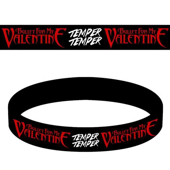 Bullet For My Valentine: Temper Temper Wristband