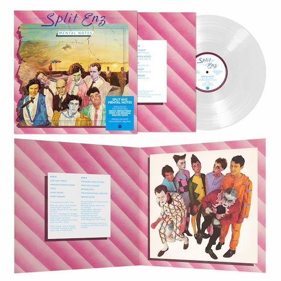 Split Enz: Mental Notes: Limited Edition White Vinyl