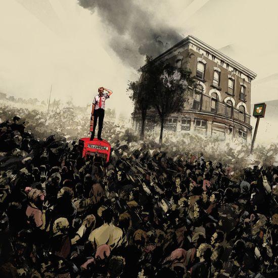 Daniel Mudford & Pete Woodhead: Shaun Of The Dead: Clear Red Vinyl