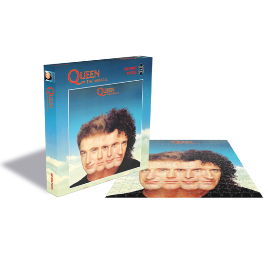 Queen: The Miracle (500 Piece Jigsaw Puzzle)