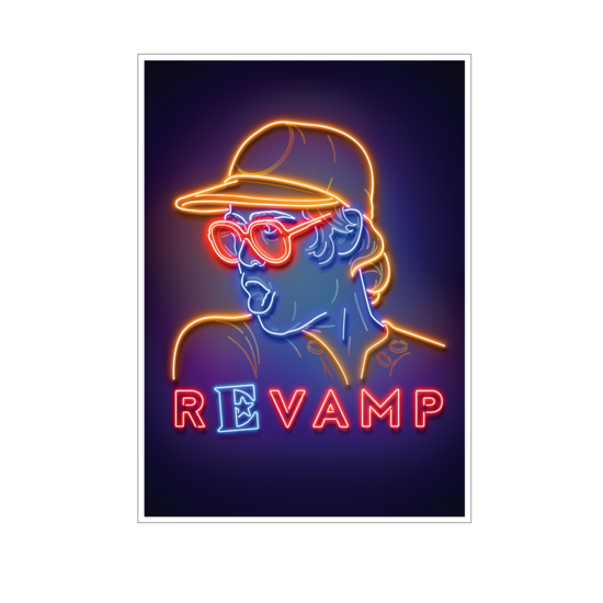 Elton John: Revamp A2 Lithograph