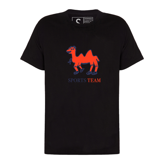 Sports Team: Camel Tee: Black