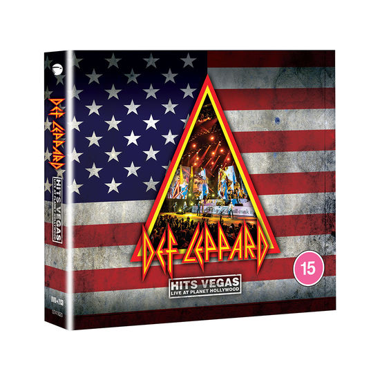 Def Leppard: HITS VEGAS Live At Planet Hollywood: DVD + 2CD