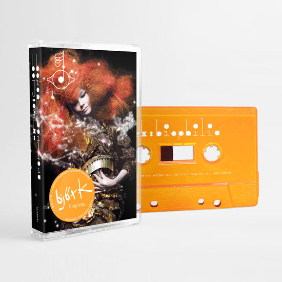 Björk: Biophilia: Limited Edition Orange Cassette