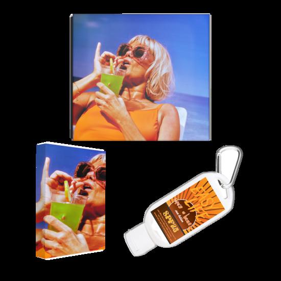 Easy Life: beach bundle: cd, cassette, sun lotion + signed artcard