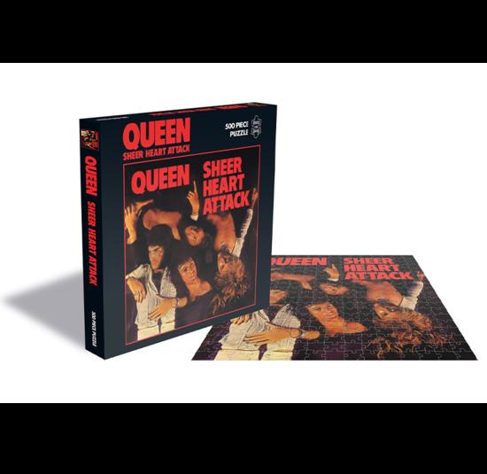 Queen: Sheer Heart Attack (500 Piece Jigsaw Puzzle)
