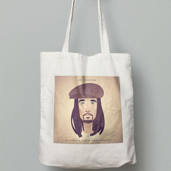 JP Cooper: Tote Bag (JP Characature)