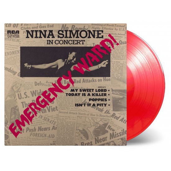 Nina Simone: Emergency Ward: Limited Edition Red Vinyl