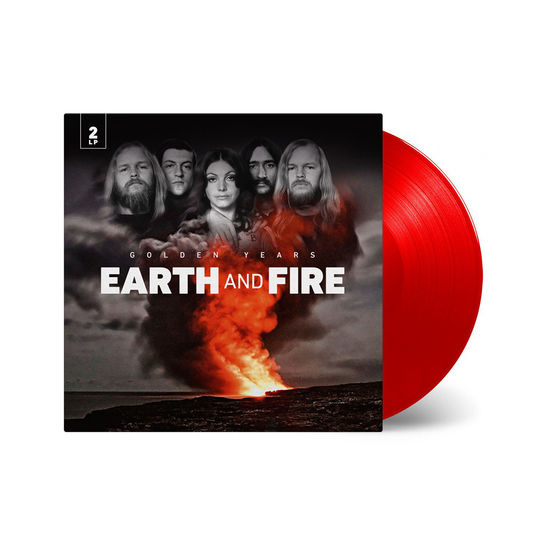 Earth And Fire: Golden Years: Limited Edition Transparent Red Vinyl