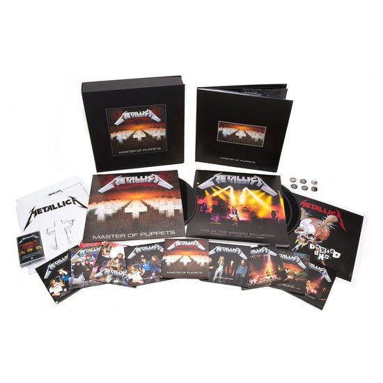 Metallica: Master Of Puppets: Deluxe Numbered Box Set