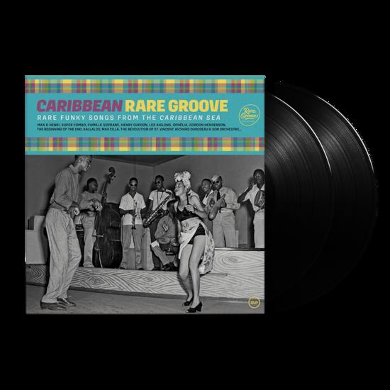 Various: Carribean Rare Groove: Black Vinyl 2LP