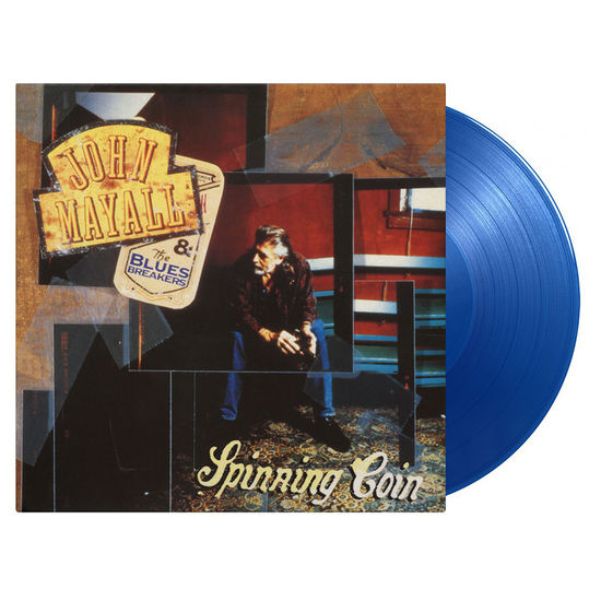 John Mayall & The Bluesbreakers: Spinning Coin: Limited Edition Transparent Blue Vinyl