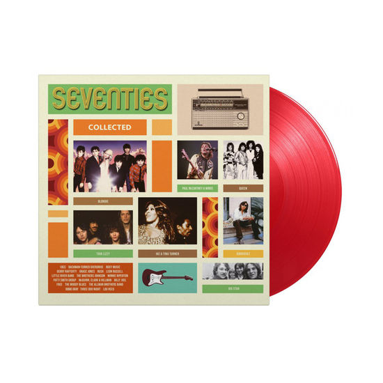 Various Artists: Seventies Collected: Limited Edition 180g Transparent Red Vinyl