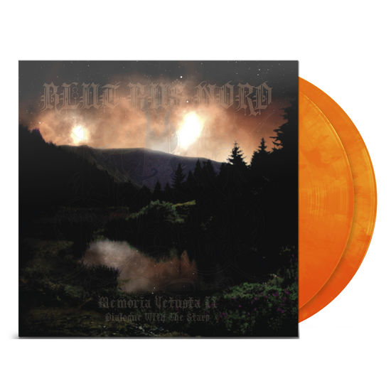 Blut Aus Nord: Memoria Vetusta ii dialogue with the stars Orange Marble
