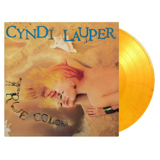 Cyndi Lauper: True Colors: Limited Edition Flaming Orange Vinyl