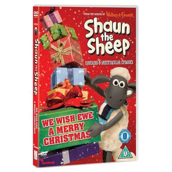Shaun the Sheep: We Wish Ewe A Merry Christmas DVD
