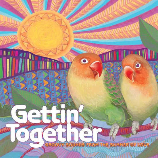 Various Artists: Gettin' Together: Groovy Sounds of the Summer of Love, Red Coloured Vinyl