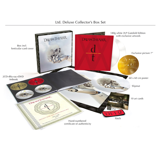 Dream Theater: Distance Over Time: Limited Deluxe Collector's Boxset