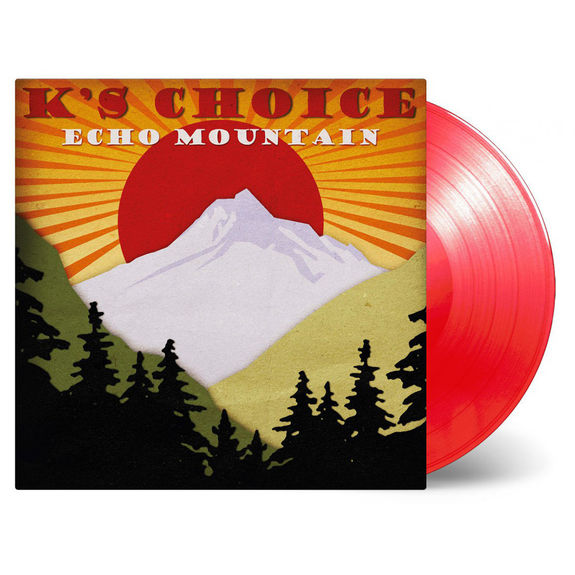 K's Choice: Echo Mountain: Limited Edition Transparent Red Vinyl