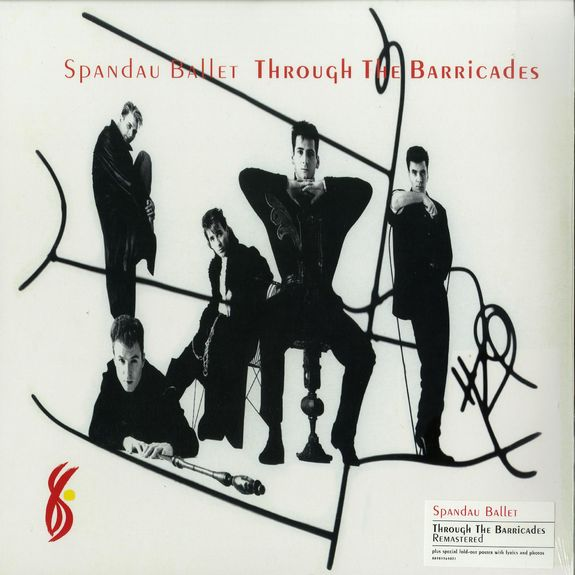 Spandau Ballet: Through the Barricades: Vinyl LP