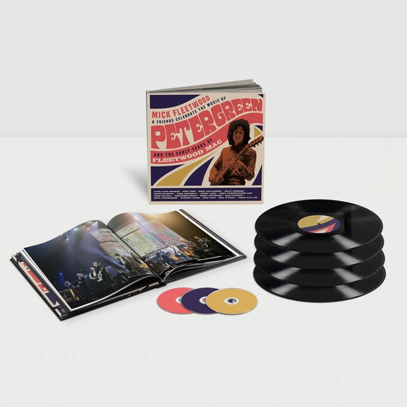 Mick Fleetwood: Mick Fleetwood and Friends Celebrate the Music of Peter Green and the Early Years of Fleetwood Mac: Limited Edition 4LP/ 2CD/ Blu-ray Box Set