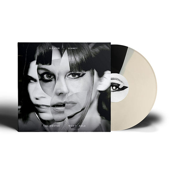 Sleater-Kinney: The Center Won't Hold: Exclusive Black & Cream Coloured Vinyl