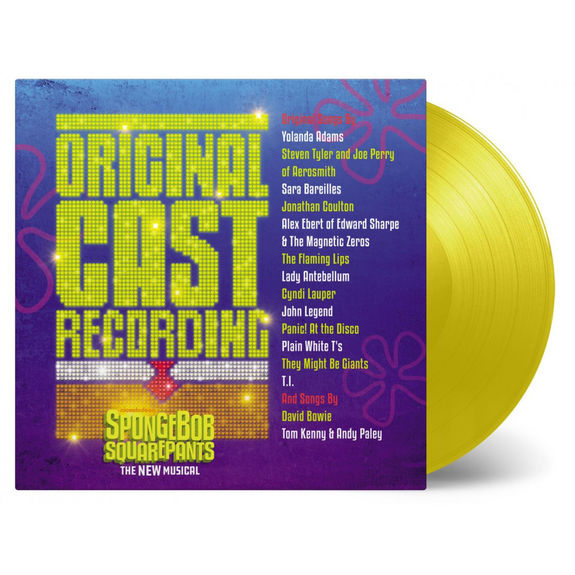 Various Artists: Spongebob Squarepants New Musical: Original Cast Recording: Numbered Yellow Transparent Vinyl
