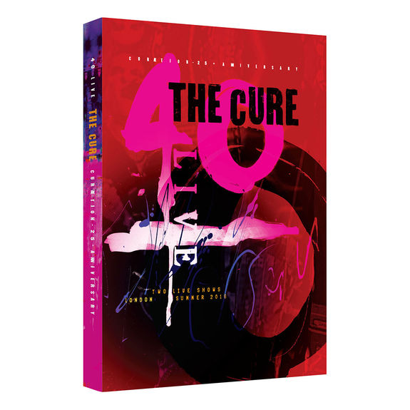 The Cure: 40 LIVE - CURÆTION-25 + ANNIVERSARY: Double DVD