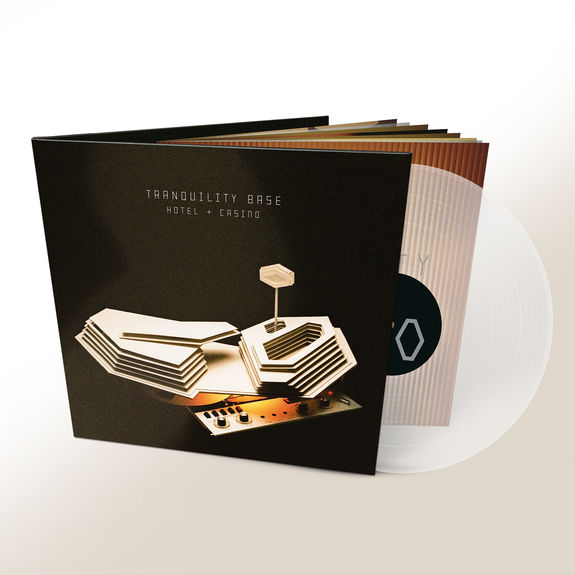 Arctic Monkeys: Tranquility Base Hotel + Casino: Transparent Deluxe Vinyl
