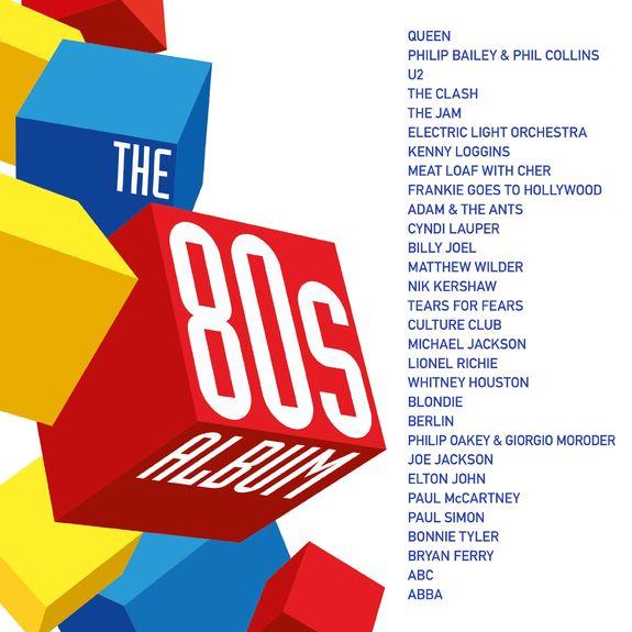 Various Artists: THE 80s ALBUM LP
