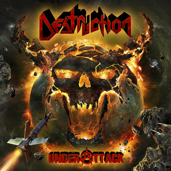 Destruction: Under Attack: Signed Gatefold Vinyl