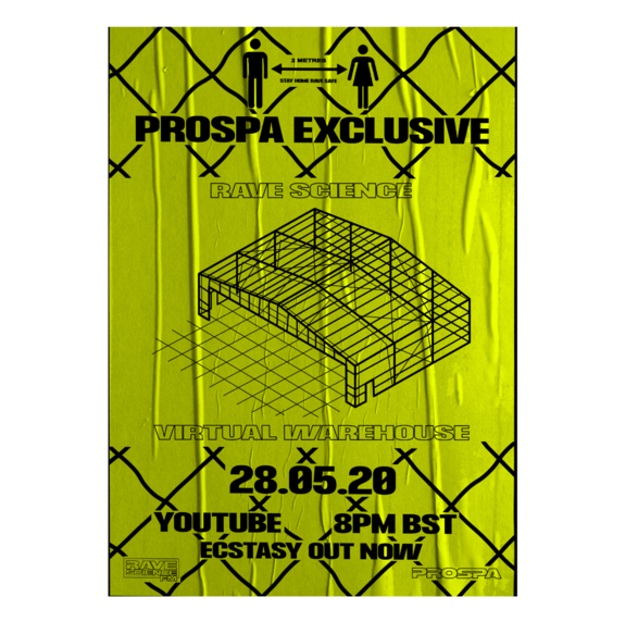 Prospa: Virtual Warehouse Poster - Yellow