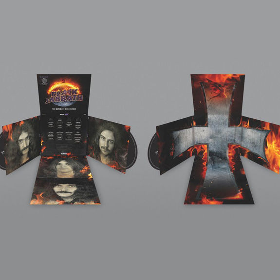 Black Sabbath: The Ultimate Collection: Crucifold Box Set