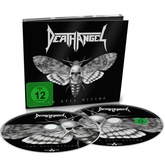 Death Angel: The Evil Divide: Limited Edition Digipack