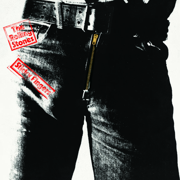 The Rolling Stones: Sticky Fingers Original LP