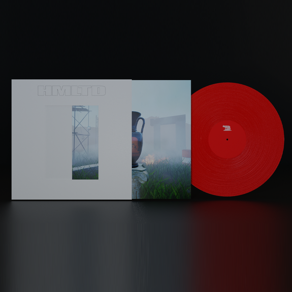 HMLTD: West of Eden: Limited Edition Red Vinyl + Exclusive Signed Print