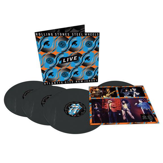 The Rolling Stones: Steel Wheels Live 180g Black Vinyl 4LP