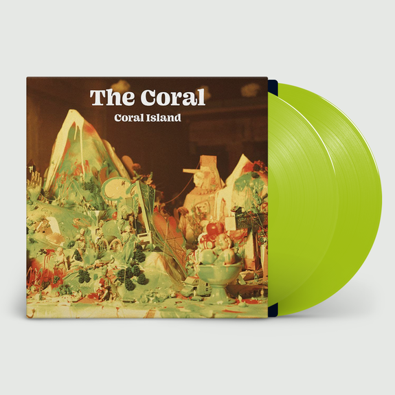 The Coral: Coral Island: Limited Edition Translucent Lime Vinyl + Signed Print