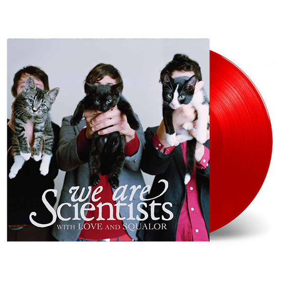 We Are Scientists: With Love and Squalor: Limited Edition Red Coloured Vinyl