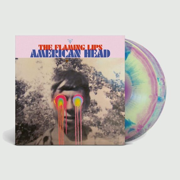 The Flaming Lips: American Head: 180gm Tri-Colour Starburst Double Vinyl