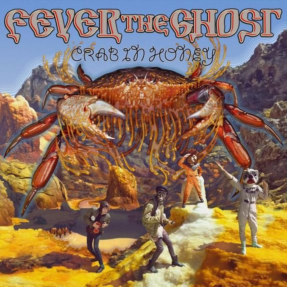 Fever The Ghost: Crab In Honey: Red Vinyl EP