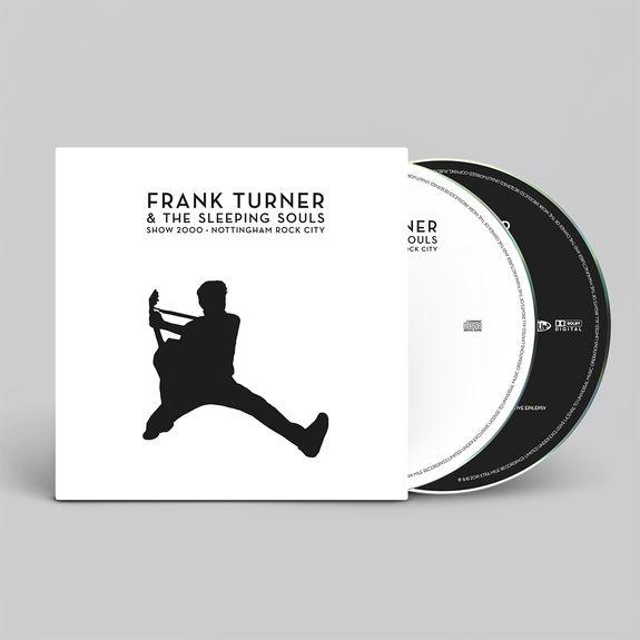 Frank Turner: Show 2000 – Live at Nottingham Rock City 15/12/16 CD/DVD