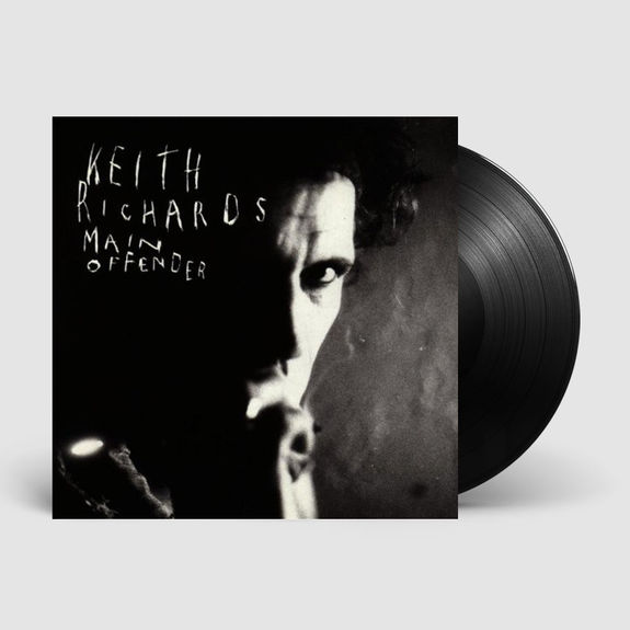 Keith Richards: Main Offender: 180g Heavyweight Vinyl Reissue