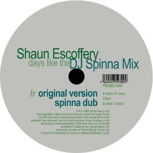 Shaun Escoffery: Days Like This (DJ Spinna Mix) LP