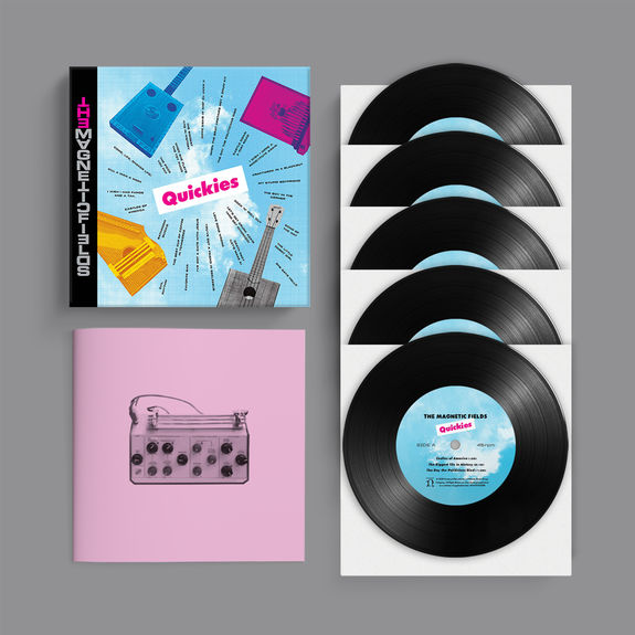 The Magnetic Fields: Quickies: Limited Edition Vinyl Boxset