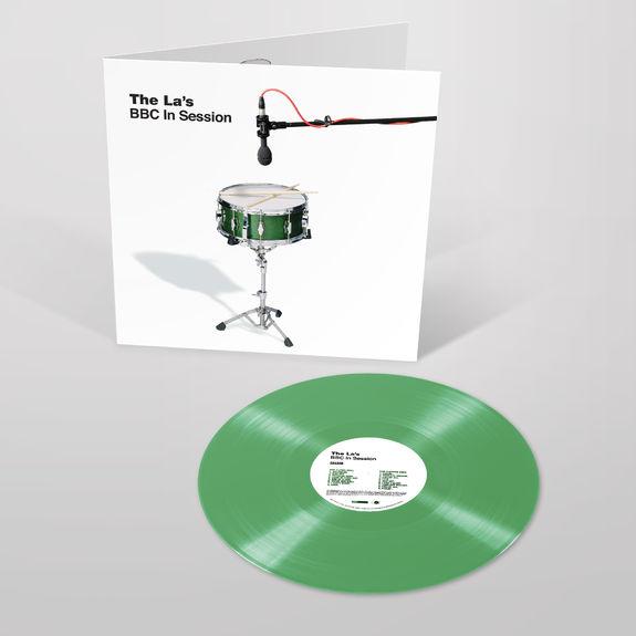 The La's: BBC In Session Transparent Green Coloured Vinyl