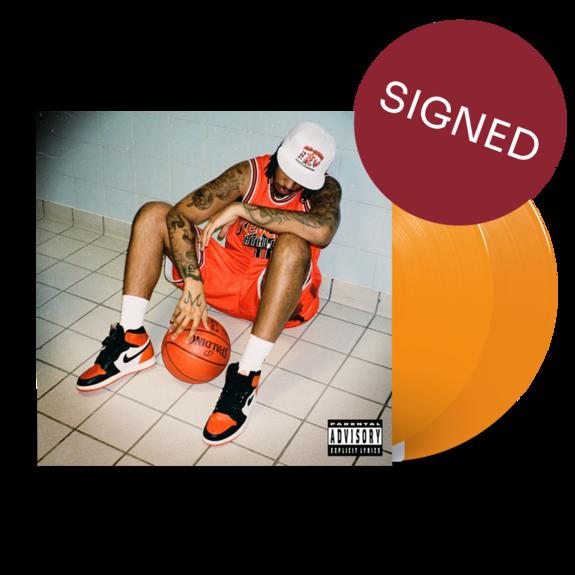 AJ Tracey: Flu Game: *SIGNED* Limited Edition Orange Vinyl 2LP